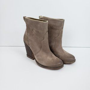 Timberland Marge Taupe Short Pull On Ankle Boots